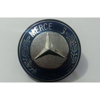Emblema Resinado Capo Mercedes Café Caminhão Mercedes Benz