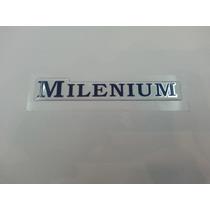 Emblema Adesivo Millenium Corsa Classic Vectra Resinado