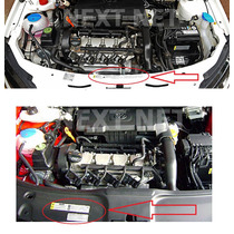 Kit Adesivo Vw Gol Voyage Motor Capo Painel Geração 4, 5