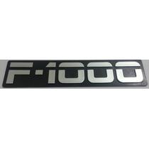 Emblema F1000 Cinza E Preto Linha 94
