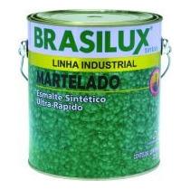Tinta Sintetica Martelado Verde Brasil Lt 900 Ml