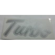 Emblema Adesivo Turbo Prata Para F1000 F4000 E Ranger 94/...
