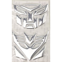Adesivo Tuning Transformers Autobot + Decepticons