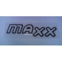 Emblema Resinado Maxx Grafite Corsa/meriva - Mmf Auto Parts