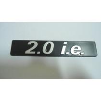 Plaqueta Lateral 2.0 I.e + Emblema Tempra I.e + Emblema Fiat