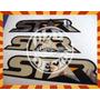 Gol Star 97 98 Jogo De Emblemas Adesivos 3m - Old Design