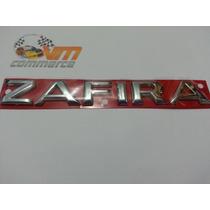 Emblema Zafira Cromado Linha 2002 Em Diante