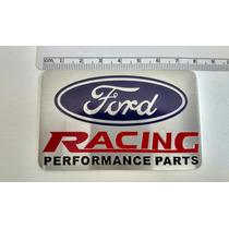Emblema Ford Racing Focus Fiesta Escort Xr3 Zetec Duratec