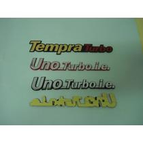 Emblema Do Uno Turbo Ie E Tempra Turbo