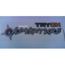 Adesivo Tryon Adventure - Pequeno - Mmf Auto Parts