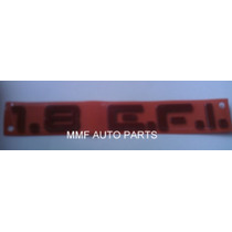 Emblema 1.8 Efi (monza/kadett) Vermelho -mmf Auto Parts