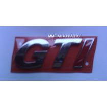Emblema Gti Gol Geração Ill - Vw - Mmf Auto Parts