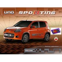 Novo Uno, Faixas Decorativas Sporting E Arabesco