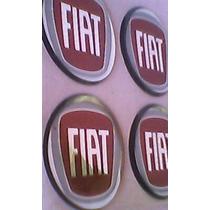 Emblema Calota Fiat 5cm Resinado Colante