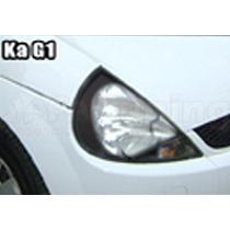 Kit Aplique Farol Mascara Negra Vinil Ford Ka G1