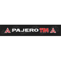 Adesivo Para Parabrisa Pajero Tr4 - Decalx