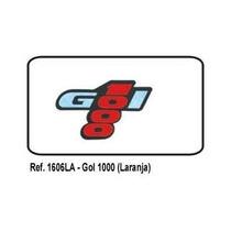 Emblema Adesivo Gol 1000 Laranja Serve Cl Gl Ls 80/95