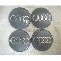 Emblemas Centro Rodas Audi A3 A4 A6 A8 Q7 Tt Quattro S3