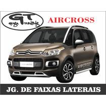 Adesivos Laterais Citroen Aircross (guga Tuning)