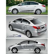 Adesivos Faixas Laterais Friso Hyundai Hb20s Hb20 Sedan