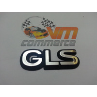 Emblema Gls Para Vectra 94/95- Cromado E Preto