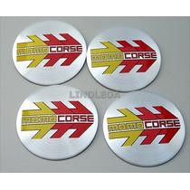 56mm Emblemas Centro Rodas Momo Corse Ferrari Rodas Novos!