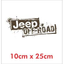 Adesivo Jeep Off Road - Decalx