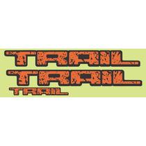 Adesivo Trail Fiesta / Ka - Frete Gratis