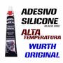 Silicone Adesivo Alta Temperatura Wurth Original 60g Black