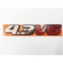 Emblema 4.3 V6 Blazer E S10