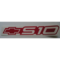 Emblema Adesivo S10 Vermelho Mmf Auto Parts - Nota Fiscal