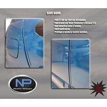 Protetor De Porta + Retrovisor Transparente Universal