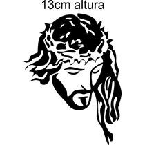 Adesivo Jesus Adesivo Cristão Notebook Celular Carro Vidro