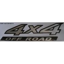 Adesivo 4x4 Off Road Frontier A Partir De 2010 Mmf Autoparts