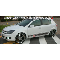 Kit De Adesivos Laterais Para Gm Chevrolet Vectra Gt E Gt-x