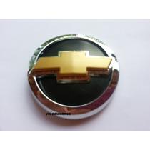 Emblema Gravata Dourada Grade Corsa Classic 2003 Acima