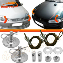 Kit Trava Capô De Metal Maverick Opala Mustang Dart Charger