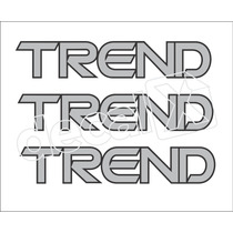 Kit Adesivos Trend Gol Parati Saveiro - Decalx