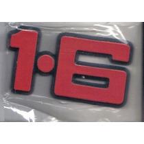 Emblema 1.6 Tampa Traseira Corcel E Belina - Mmf Auto Parts