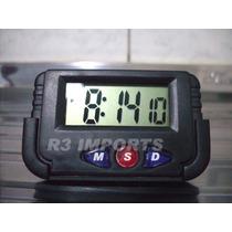 Relógio Digital Portátil Para Carro - Frete Grátis Brasil