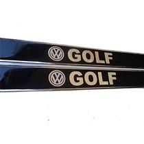Jgo Soleiras Resinadas Logomarca Golf 99/ 4p + Frete Gratis