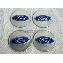 Emblemas Centro Rodas 90mm Ford Fusion Mondeo Escort Taurus