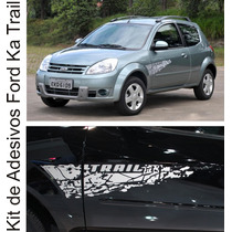 Kit Adesivos Ford Ka Trail