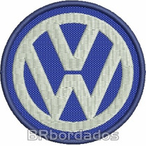 Car014 Volkswagem 8 Cm Rally 4x4 Kart Stockcar Patch Bordado