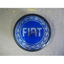 Calota Central Ø5,0cm Para Roda De Liga Leve Fiat