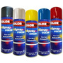Tinta Spray Automotiva Colorgin Preto Fosco