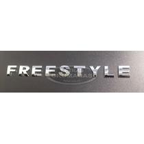 Emblema Freestyle Cromados De 2cm Com Adesivo 3m