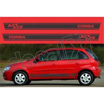 Kit Faixas Adesivos Chevrolet Corsa Ss - Imprimax - Decalx