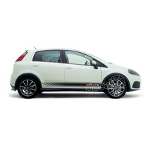 Kit Faixas Adesivos Fiat Punto Sporting - Imprimax - Decalx