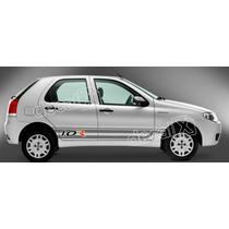 Kit Faixa Adesivos Fiat Palio 1.0r Larga - Imprimax - Decalx